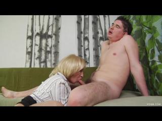 Mature-blonde-fucking-neighbor mature, milf