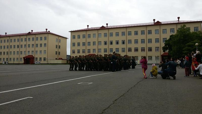 марш 5 полка, присяга 05.06.2016