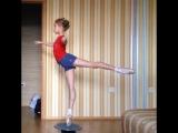 Маленькая балерина, Яна Черепанова. @yana_nka8 Академия балета им. Вагановой
