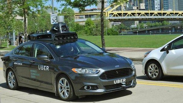 Uber показала свой первый самоуправляемый автомобиль