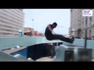 Самые невероятные прыжки в паркуре