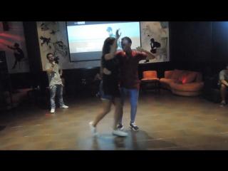 Carlos & Martina - Bachata, Mana Cafe 2016