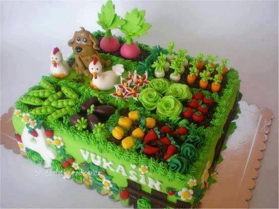 Торт для дачника фото
