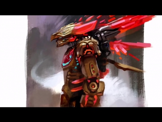 Bionicle 2016 - Tahu and Ikir the Creature of Fire united