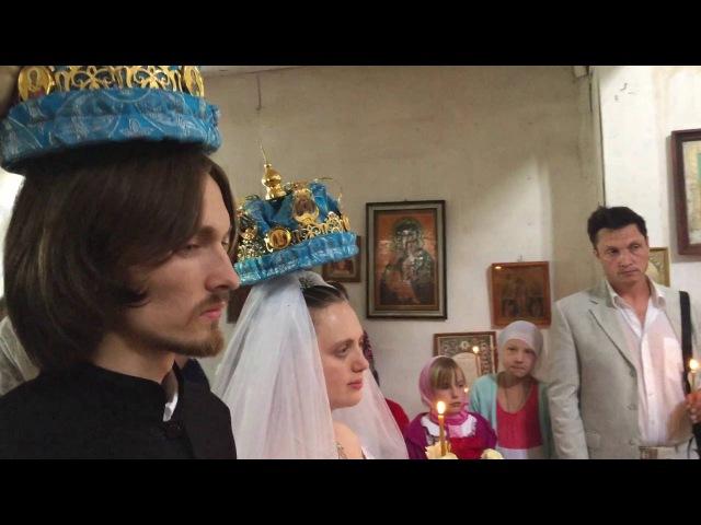 Свадьба в деревне - Венчание, ч.2 (СДС)