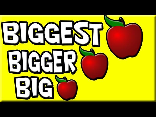 Big Bigger Biggest | степени сравнения