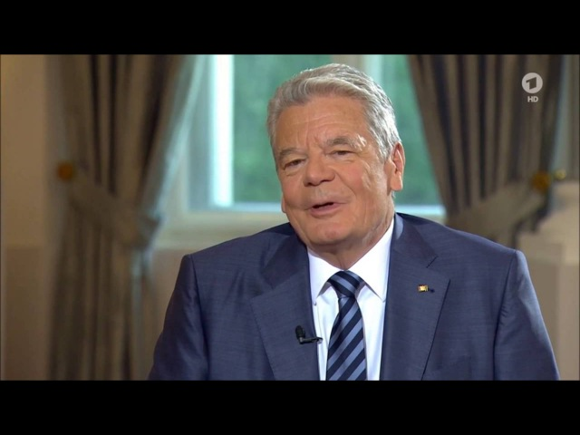 BREXIT - Die Bevölkerungen sind das Problem Bundespräsident Gauck 19.06.2016 - Bananenrepublik