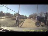 Приколы на дорогах в деревне  Дураков