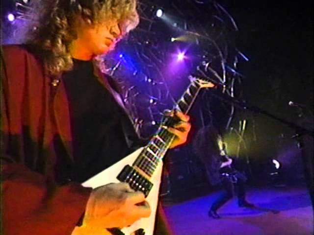 Megadeth - Sweating Bullets (Night Of The Living Megadeth 1994)