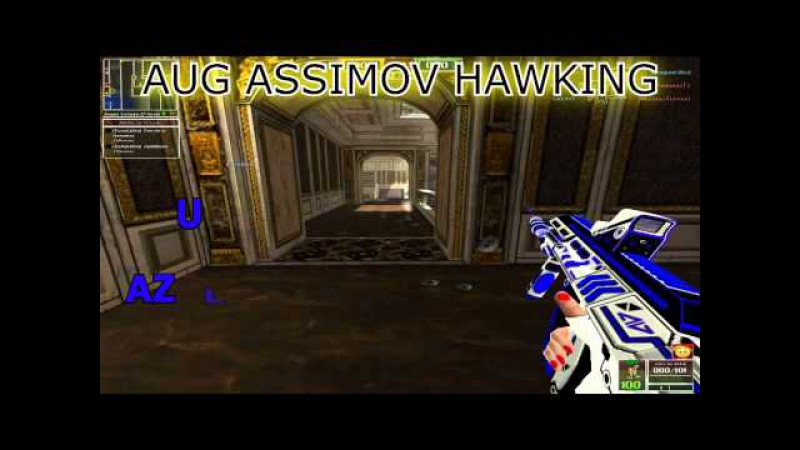 Pack Aug ASIIMOV HAWKING total collor Pointblank(creditos PINTA1)