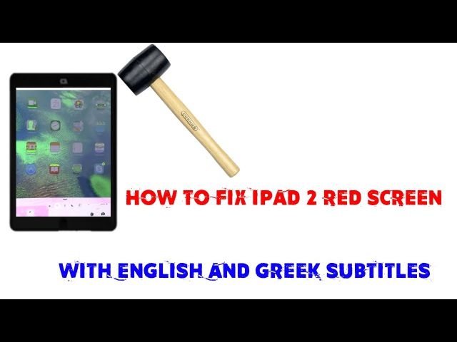 Ipad Красный, зелёный, синий экран. iPad screen problems. How to fix ipad 2 red screen.