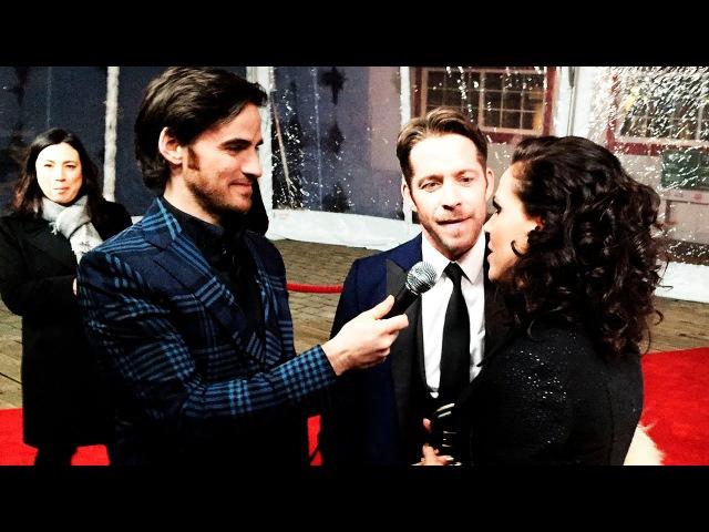 Колин О'Донохью берёт интервью у Шона Магуайера и Ланы Паррии.