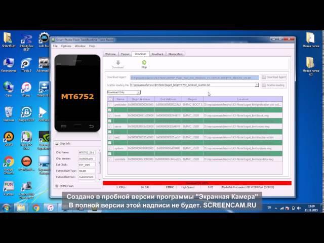 Прошивка Руссификация Lenovo K3 Note K50 T5
