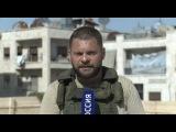 На юге Алеппо идут ожесточенные бои. Эксклюзив Евгения Поддубного