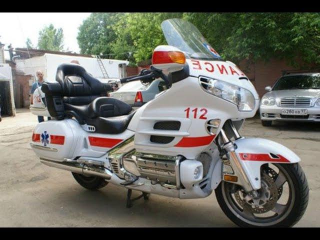 Мотоциклы скорой помощи слайд-шоу