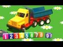 Cartoni animati per bambini Al parco giochi il camion cingolato