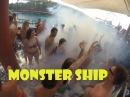 Monster Ship Kemer. Аниматор экстримал.Пенная дискотека на корабле.