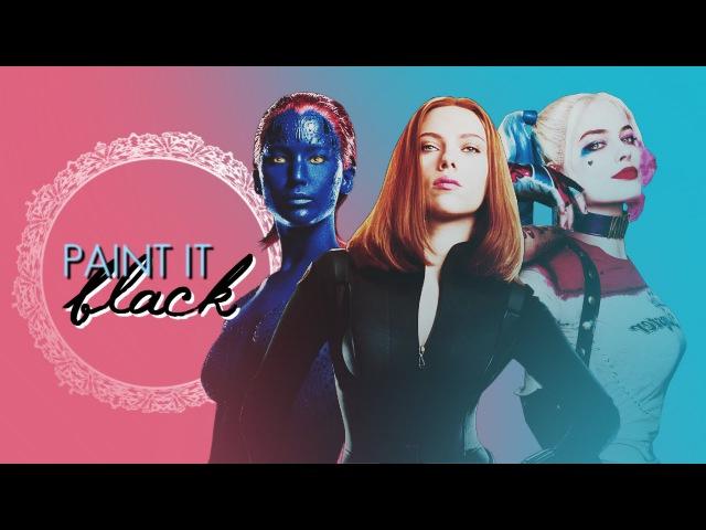 Marvel DC Multifemale Paint It Black