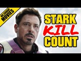 IRON MAN Movie Kill Count Supercut (Plus Robots)
