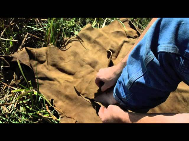 How to make moccasin using brain tanned deer leather. Bushcraft survival skills.