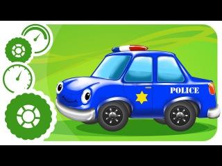Carritos Para Niños. Coche de policía, Camión de bomberos. Caricaturas de carros. Tiki Taki Carros