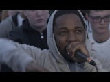 Reebok surprises youth and cypher breaks out with Kendrick Lamar