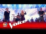 The Voice 2016 - Christina Aguilera, Adam Levine, Pharrell Williams and Blake Shelton