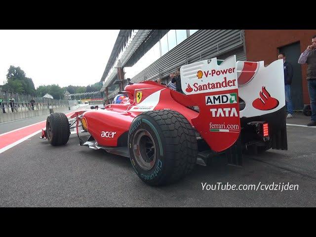 Ferrari Corse Clienti - 1 Hour of EPIC F1, FXX-K 599XX SOUNDS!