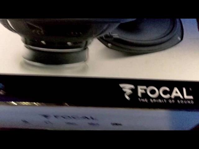 Focal ISC 690 , Morel Maximo Coax 5, EDGE EDB12A TWIN ACTIVE E2, PIONER AVH-160DVD
