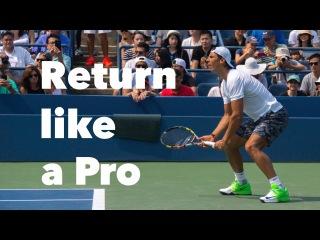 Return Like a Pro I 3 Steps To Follow I Two-Handed Backhand