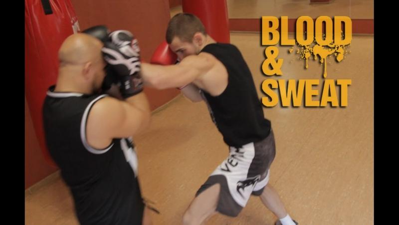 Защитные действия после атаки. Техника бокса.