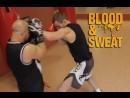 Защитные действия после атаки Техника бокса Игорь Смольянов и Алексей Добрынин