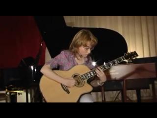Татьяна шипилова - joseph kosma autumn leaves, guitar college moscow