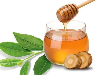 Обертывание с чаем, имбирем и медом