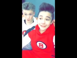 Leondre devries and charlie lenehan singing little Einstein bars and melody