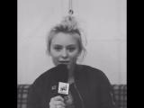 Video of Zara Larsson posted by NJR Sweden on Instagram on 30/06/16.