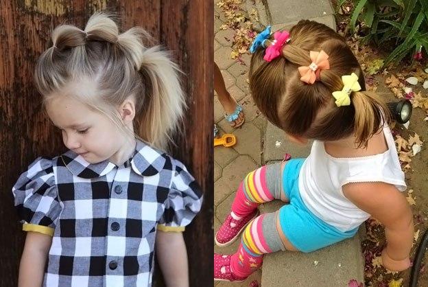 Детские красивые прически для девочек