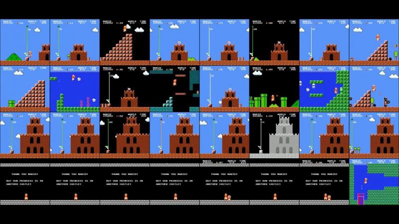Все уровни Super Mario на Dendy одновременно  » онлайн видео ролик на XXL Порно онлайн