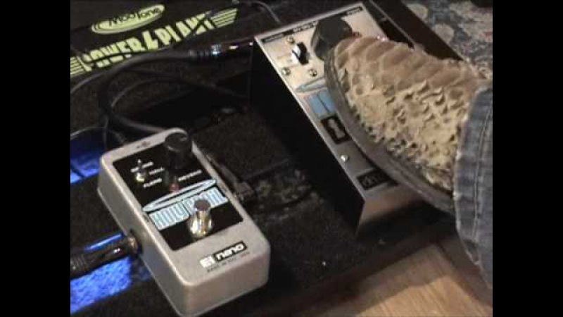 Electro Harmonix Holy Grail vs NANO Holy Grail REVERB guitar effects pedal shootout
