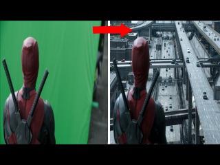 Görsel Efektler ile Deadpool'un Öncesi ve Sonrası