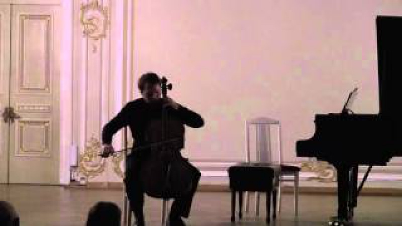 M. Weinberg 6 Preludes for cello solo op. 100 Alexey Zhilin