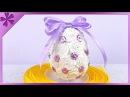 DIY Tissue paper Easter Egg (ENG Subtitles) - Speed up 77
