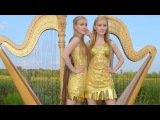 Now We Are Free (GLADIATOR Theme) - Harp Twins (Camille and Kennerly)