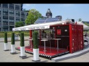 Кафе из морского контейнера Идея для бизнеса.