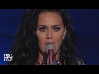 Watch Katy Perry perform 'Rise and 'Roar' at the 2016 Democratic National Convention
