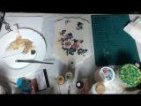 Наталья Большакова МК Webinar - Художественный декупаж Создание дымчатого фона