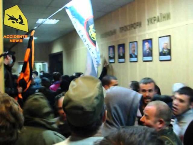Захоп Луганскай пракуратуры 29.04.2014