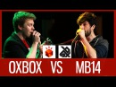 OXBOX vs MB14 | Grand Beatbox LOOPSTATION Battle 2016 | 1/4 Final