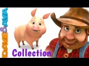 Old MacDonald Had a Farm Animal Sounds Song Nursery Rhymes Baby Songs Collection Dave and Ava