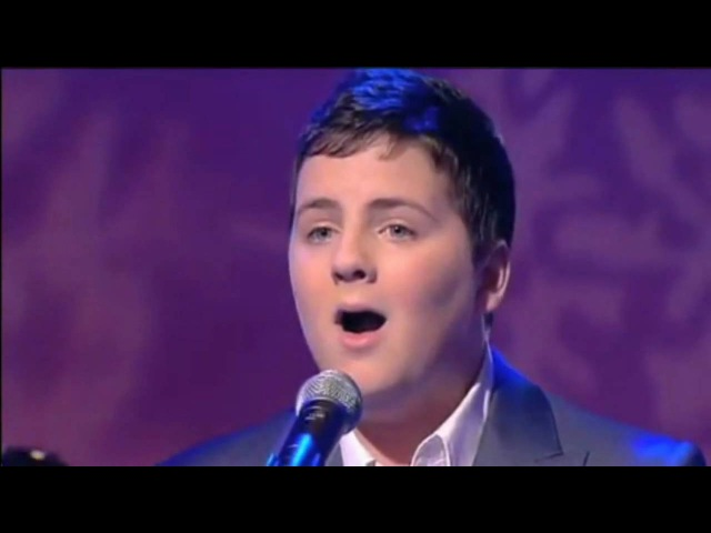 Andrew Johnston - Walking in The Air on GMTV